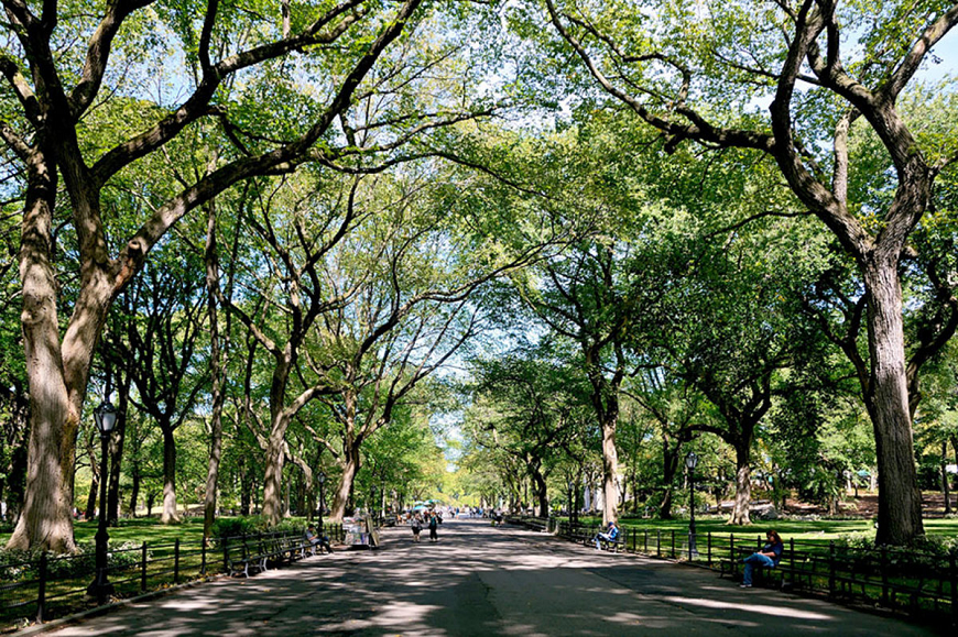 POET'S WALK, CENTRAL PARK, NEW YORK, MỸ